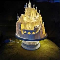 IMG_20191213_152746.jpg Download STL file Christmas Village Base • 3D printable template, vitalij92