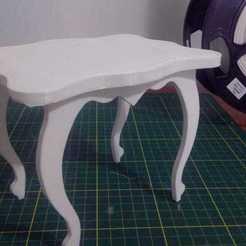 Download 3D printing designs Small Dolls Table, FuturArt-3D