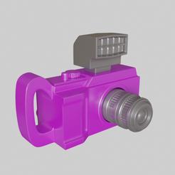 Download 3D printer templates Dolls Camera , FuturArt-3D