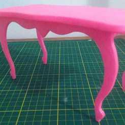 Download 3D printing models Dolls Table, FuturArt-3D