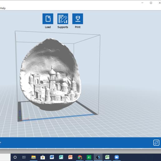 Download free STL file Moon city • 3D printing model, 25caih