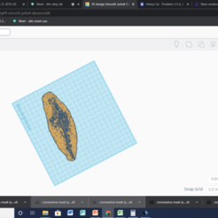 Download free STL file Whale Fossil, 25caih