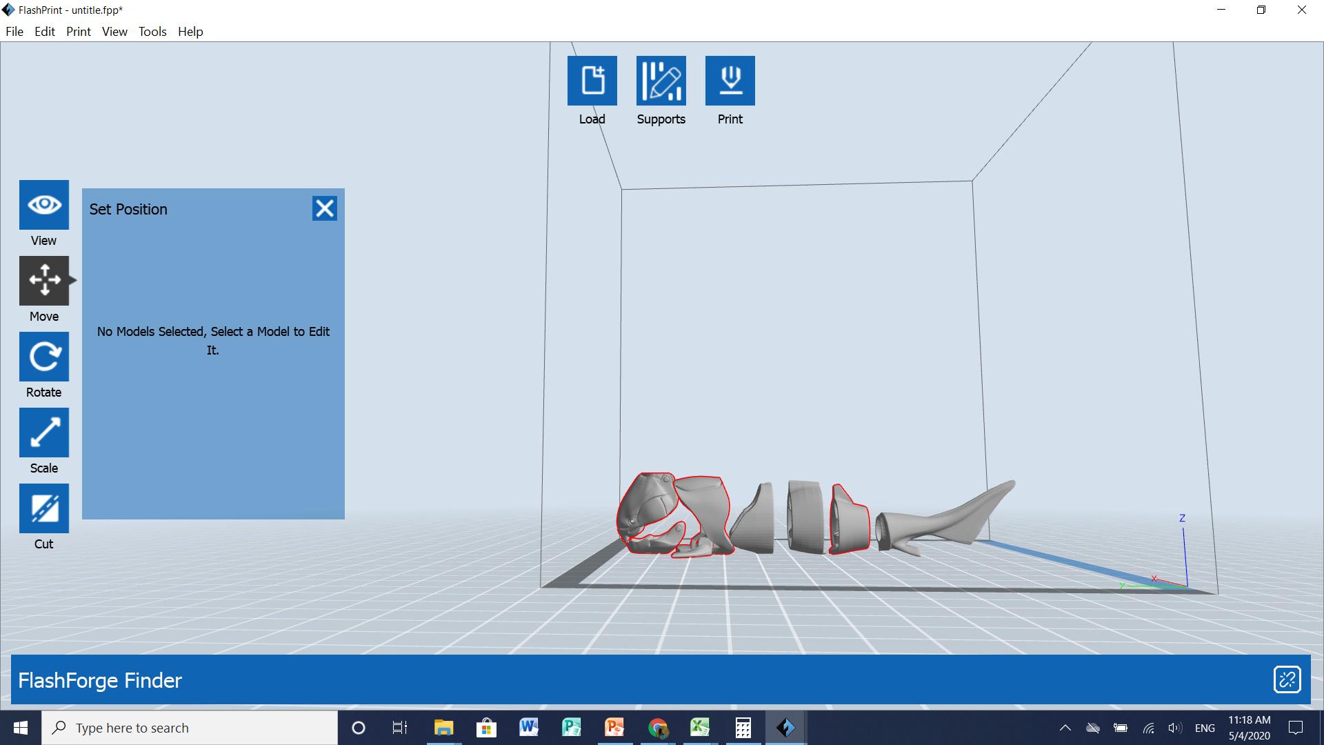 Screenshot (41).png Download free STL file Flexi 3D Fish • 3D printer model, 25caih