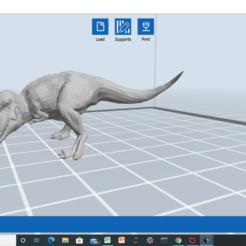 Screenshot (1).png Download 3MF file T-Rex model • 3D printable template, 25caih