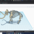 Screenshot (44).png Télécharger fichier STL gratuit Squelette d'un mammouth Wolley • Objet imprimable en 3D, 25caih