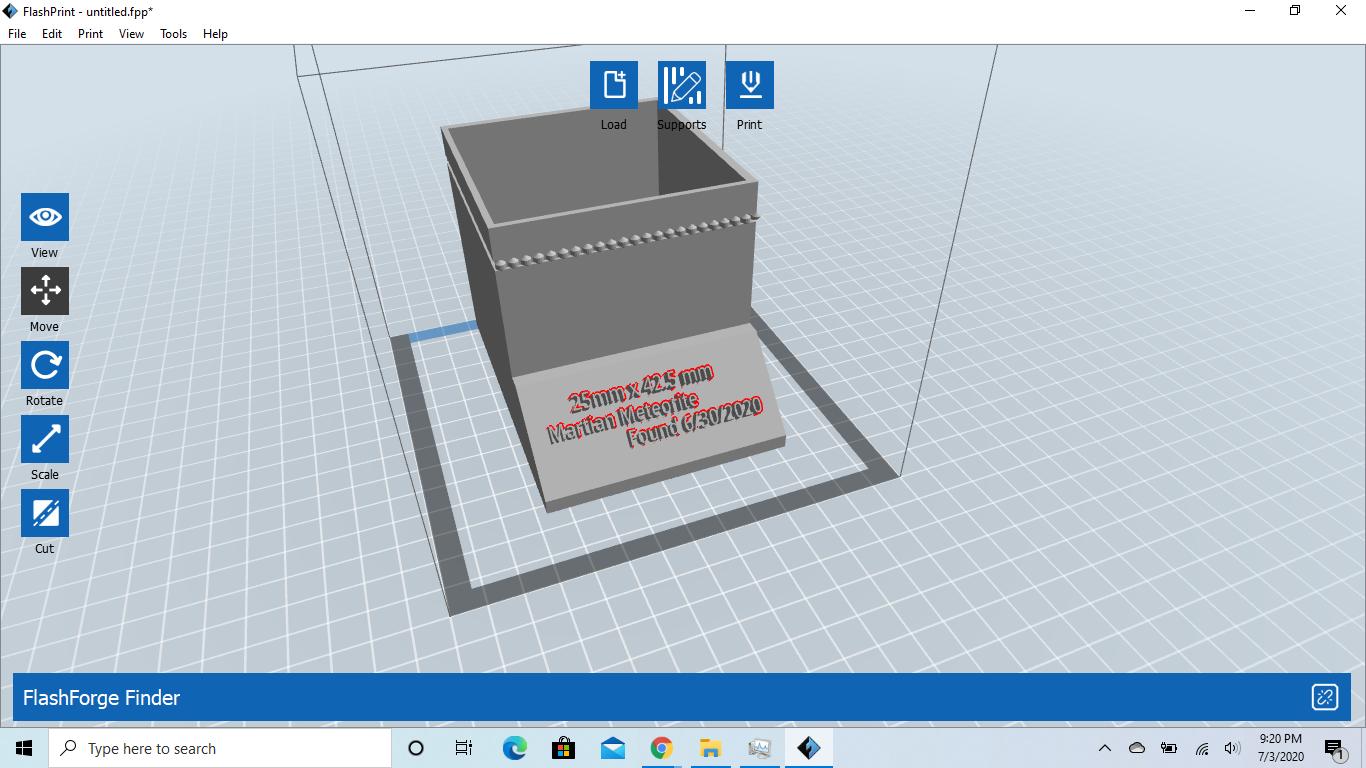 Screenshot (6).png Download free STL file So I found a Martian Meteorite in my Backyard • Model to 3D print, 25caih