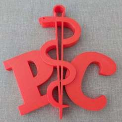 Download free 3D printer files Logo PC Doctor Spectrumschool, misterinfo