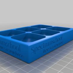 Télécharger fichier STL gratuit Plateau/boîte à vis (Spectrumschool) • Design à imprimer en 3D, misterinfo