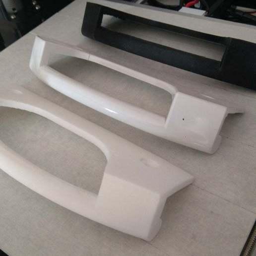 Download free 3D printer templates Fridge Freezer Door Handle Bosch/Siemens/Balay 096110, Skdzzz