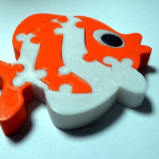 Download free 3D printing files Fish Puzzle, 3D_PRINT_IRAQ