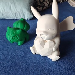 Download free STL file Pikachu(Pokemon) • Object to 3D print, MroznyHipis