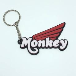IMG_3418.JPG Télécharger fichier STL Honda monkey keychain • Plan pour imprimante 3D, manustuntman