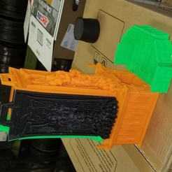 Download free 3D print files Warhammer Fortress of Sacrifice Dice Tower, Enforcer