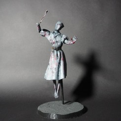 Download free 3D printer files Nurse from Dead by Daylight, Hobbyman