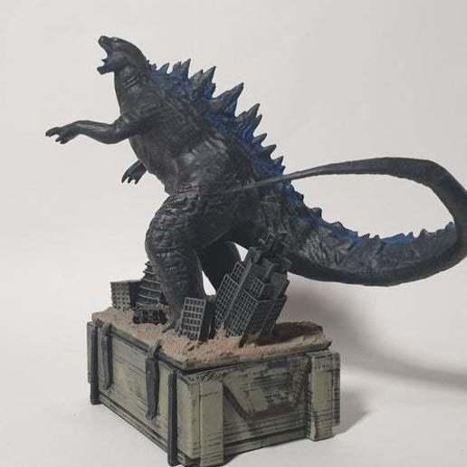 Télécharger modèle 3D gratuit PUBGM Godzilla crate.ver, Hobbyman