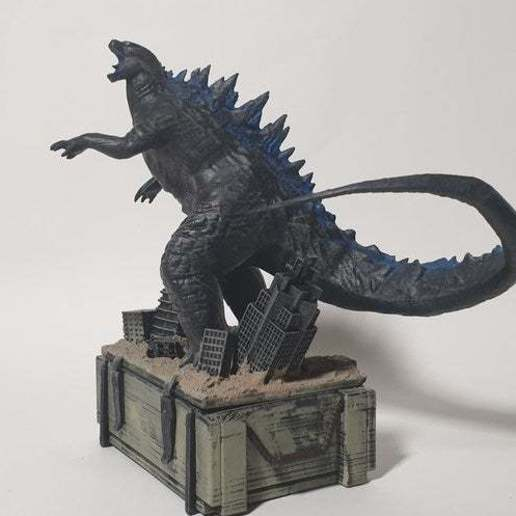 Download free STL PUBGM Godzilla crate.ver, Hobbyman
