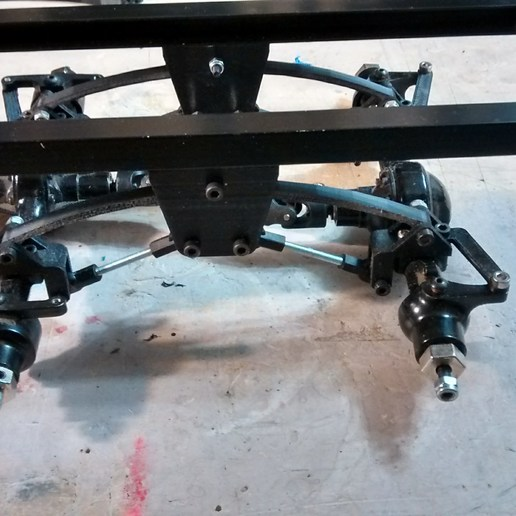 Download 3D printing templates Ural 4320 dolly mod rc4wd yota axle, 3Dscaler