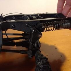 Imprimir en 3D gratis Suspensión trasera en voladizo TRX4 Traxxas, 3Dscaler