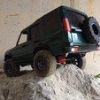 Download STL files Land Rover Discovery 2S bodyshell 313 mm wheelbase, 3Dscaler