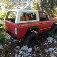 Download STL Nissan Patrol TR bodyshell 313mm wheelbase, 3Dscaler