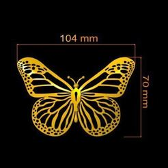 001.JPG Download 3DS file butterfly  • 3D print design, Ssart