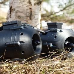 Download 3D printing files Underwater motor, Roman_Weitendorf