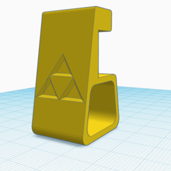 Soporte Ps4 Zelda Triforce.png Download STL file Ps4 Zelda Triforce Support • Template to 3D print, venturasantoshidalgo22