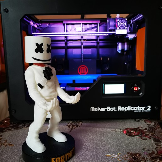 Download 3D printing files Fortnite Marshmellow , RogerioCorreadeMelo