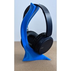 Descargar STL gratis Organic Headphone Holder, st-renzo