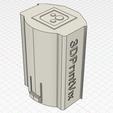 Télécharger modèle 3D Airsoft Ares Amoeba AM-013 Battery Extensor MK1, 3dprintvix