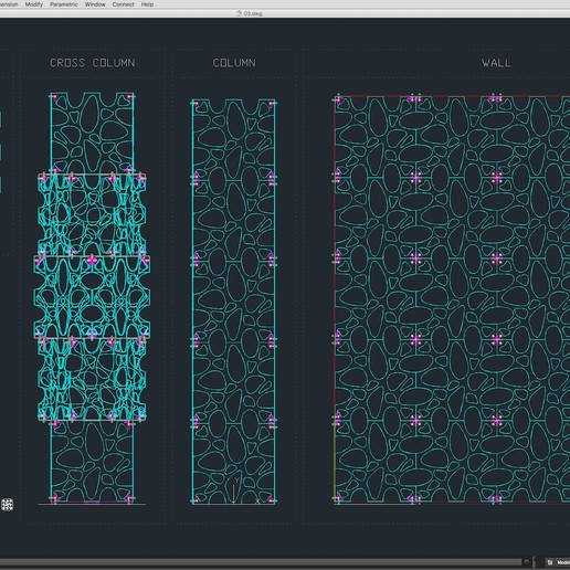 70-Cad-03-01-1680.jpg Download STL file Stage Decor Collection 01 (Modular 9 Pieces) • 3D printer model, akerStudio