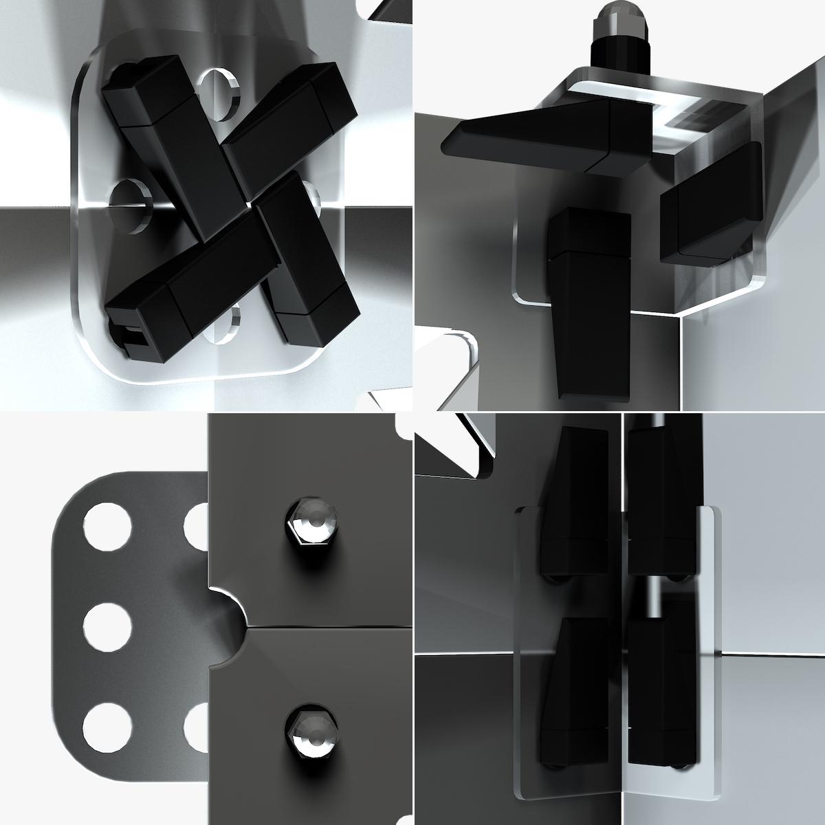 70-01-11-1200x1200.jpg Download STL file Stage Decor Collection 01 (Modular 9 Pieces) • 3D printer model, akerStudio