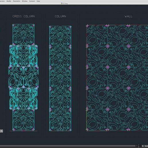 70-Cad-07-01-1680.jpg Download STL file Stage Decor Collection 01 (Modular 9 Pieces) • 3D printer model, akerStudio