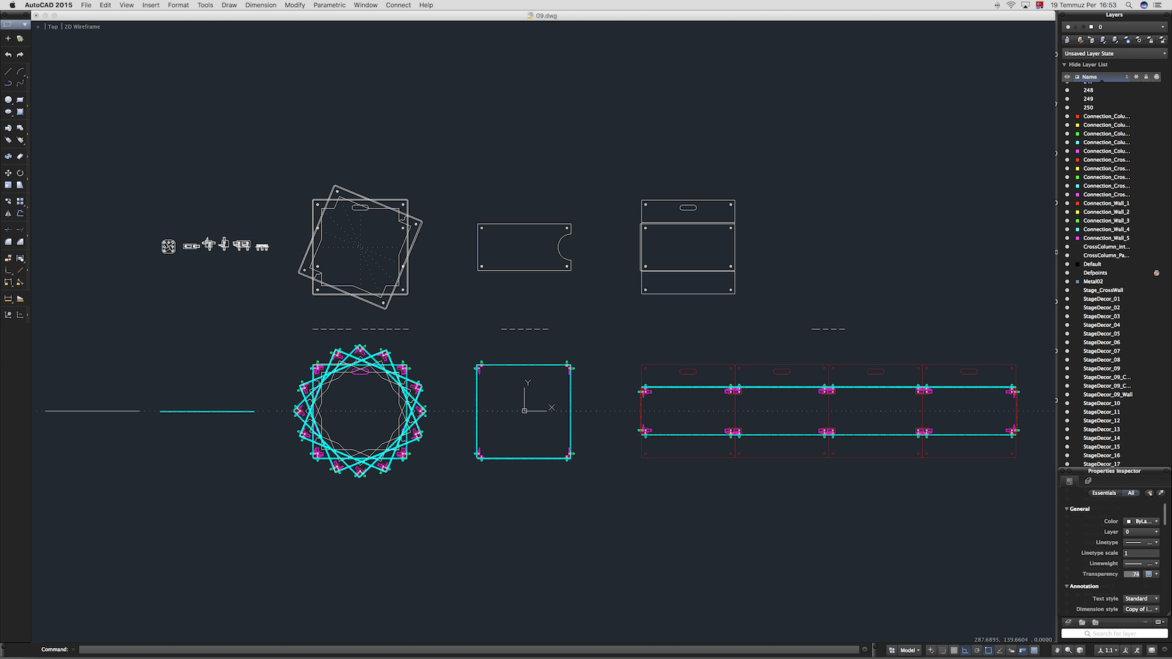 70-Cad-09-02-1680.jpg Download STL file Stage Decor Collection 01 (Modular 9 Pieces) • 3D printer model, akerStudio