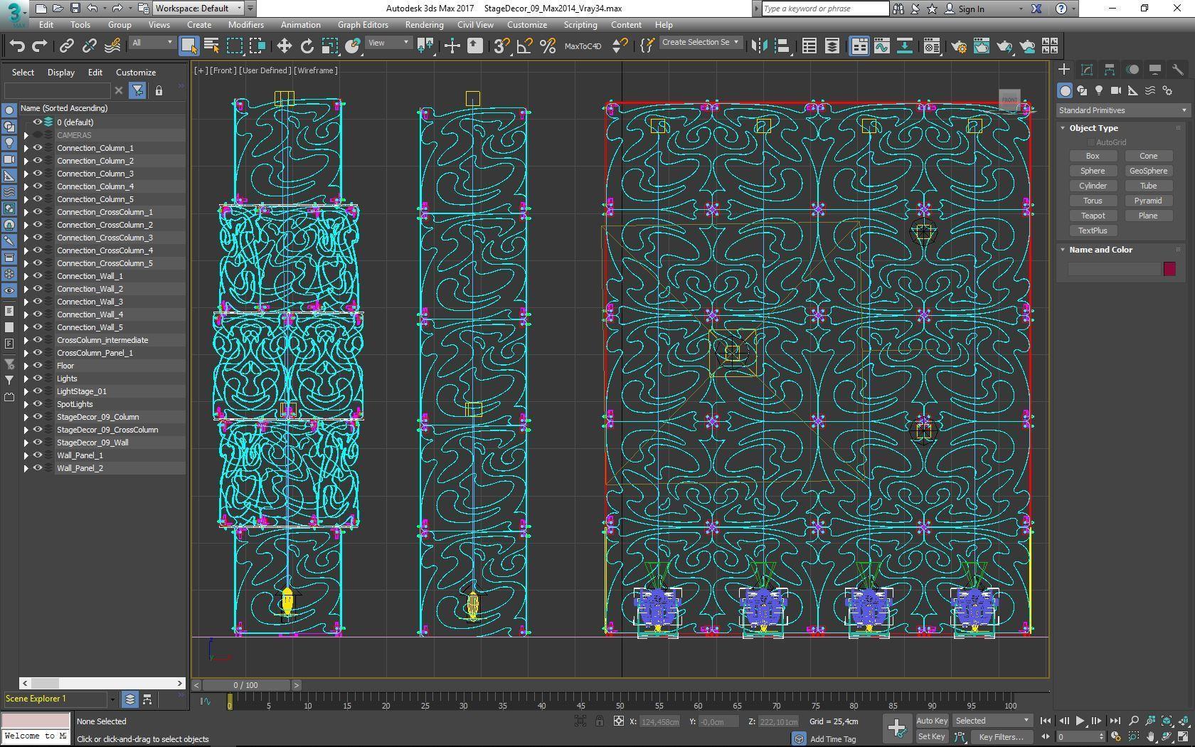70-Max-09-02-1680.JPG Télécharger fichier STL Collection de décors de scène 01 (Modulaire 9 pièces) • Design pour imprimante 3D, akerStudio