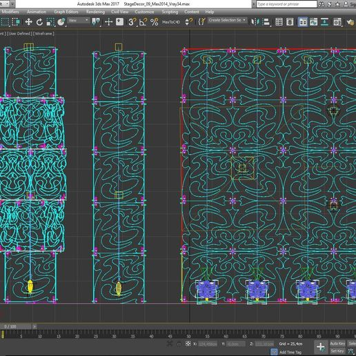 70-Max-09-02-1680.JPG Download STL file Stage Decor Collection 01 (Modular 9 Pieces) • 3D printer model, akerStudio