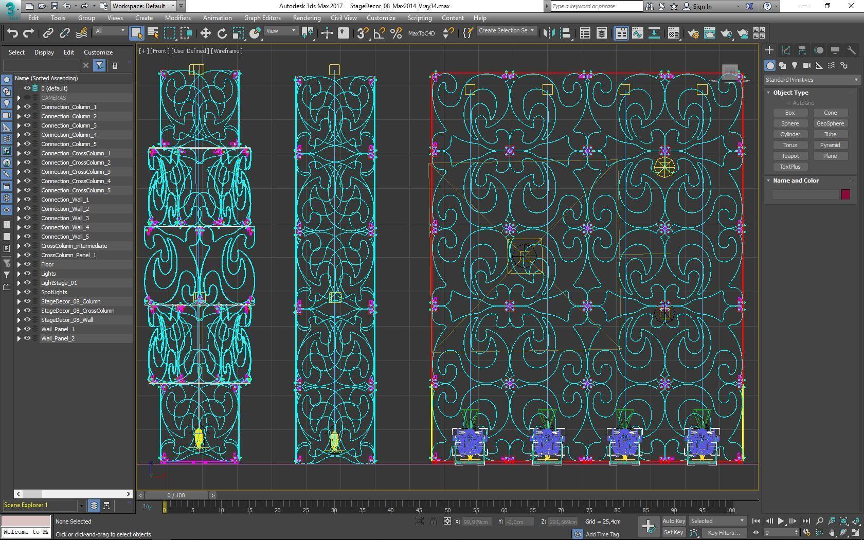 70-Max-08-02-1680.JPG Download STL file Stage Decor Collection 01 (Modular 9 Pieces) • 3D printer model, akerStudio