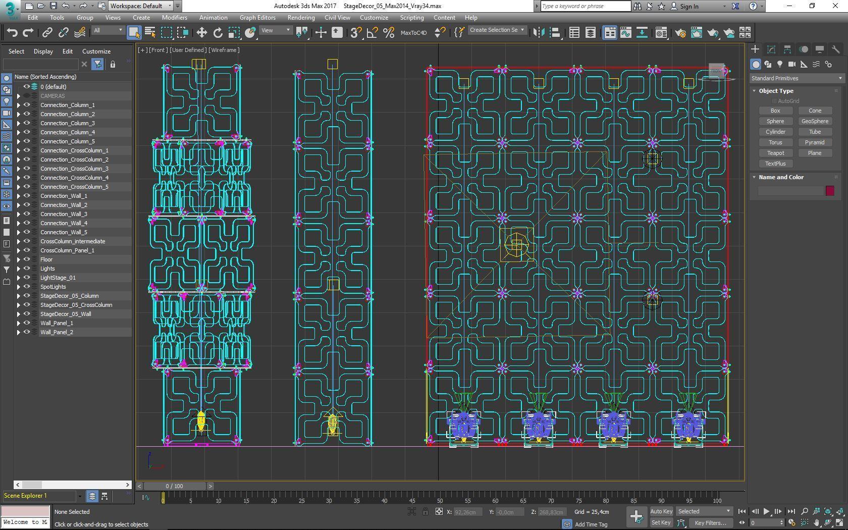 70-Max-05-02-1680.JPG Télécharger fichier STL Collection de décors de scène 01 (Modulaire 9 pièces) • Design pour imprimante 3D, akerStudio