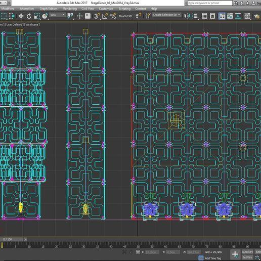 70-Max-05-02-1680.JPG Download STL file Stage Decor Collection 01 (Modular 9 Pieces) • 3D printer model, akerStudio
