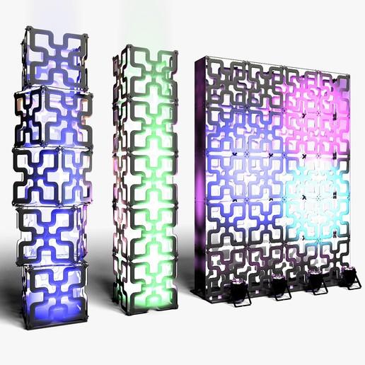 70-05-01-1200x1200.jpg Download STL file Stage Decor Collection 01 (Modular 9 Pieces) • 3D printer model, akerStudio
