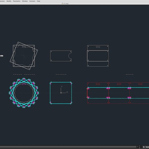 70-Cad-01-02-1680.jpg Download STL file Stage Decor Collection 01 (Modular 9 Pieces) • 3D printer model, akerStudio