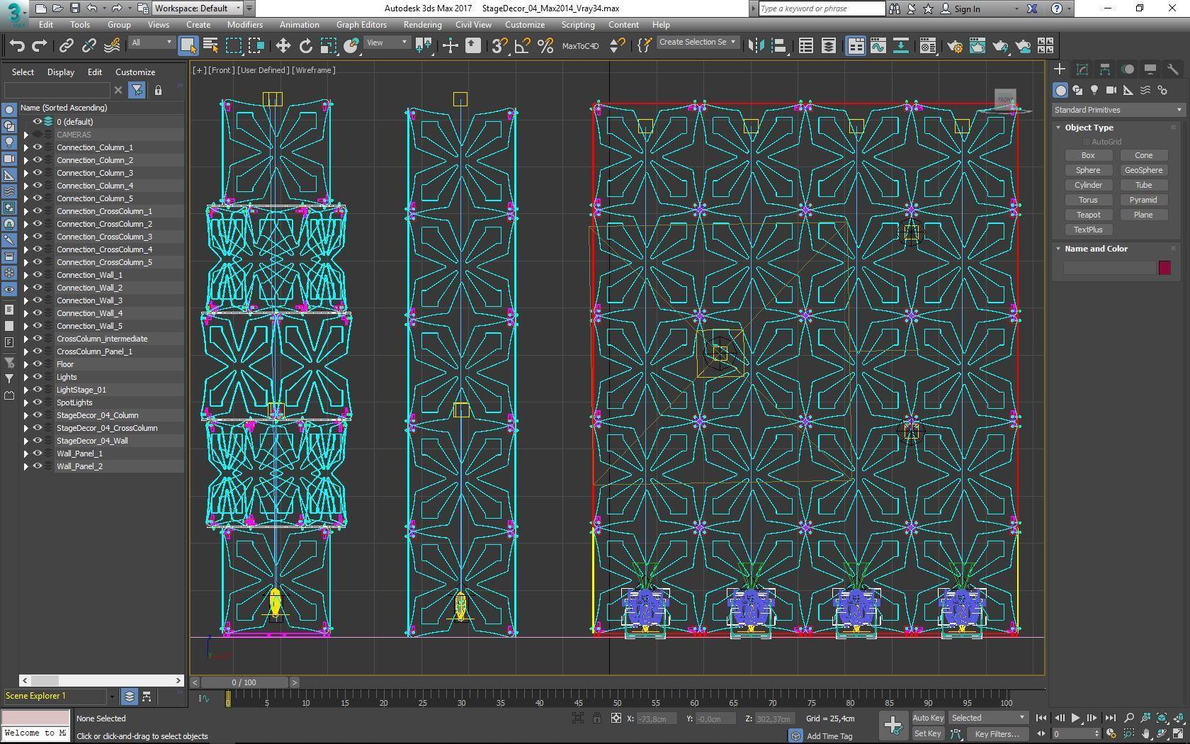 70-Max-04-02-1680.JPG Download STL file Stage Decor Collection 01 (Modular 9 Pieces) • 3D printer model, akerStudio