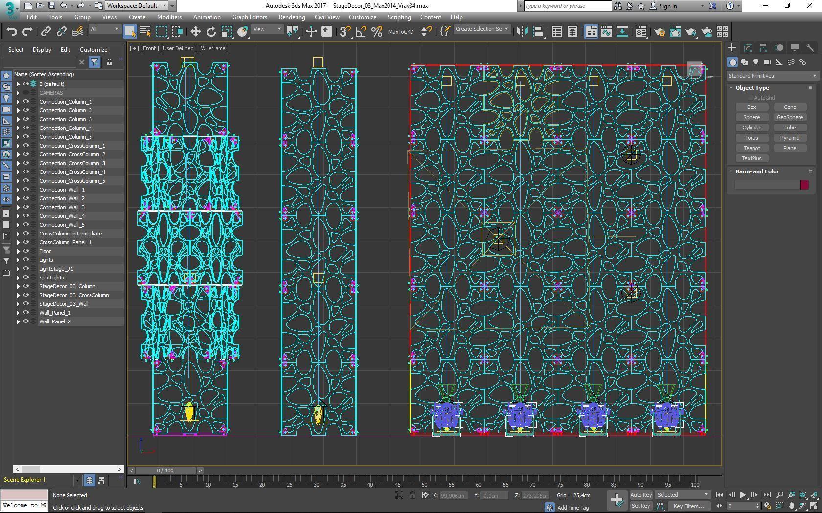 70-Max-03-02-1680.JPG Télécharger fichier STL Collection de décors de scène 01 (Modulaire 9 pièces) • Design pour imprimante 3D, akerStudio