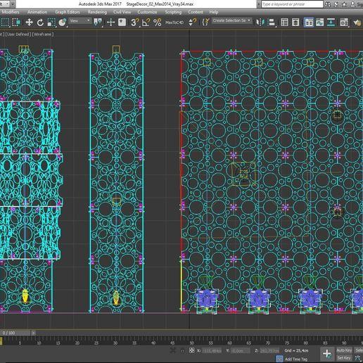 70-Max-02-02-1680.JPG Download STL file Stage Decor Collection 01 (Modular 9 Pieces) • 3D printer model, akerStudio