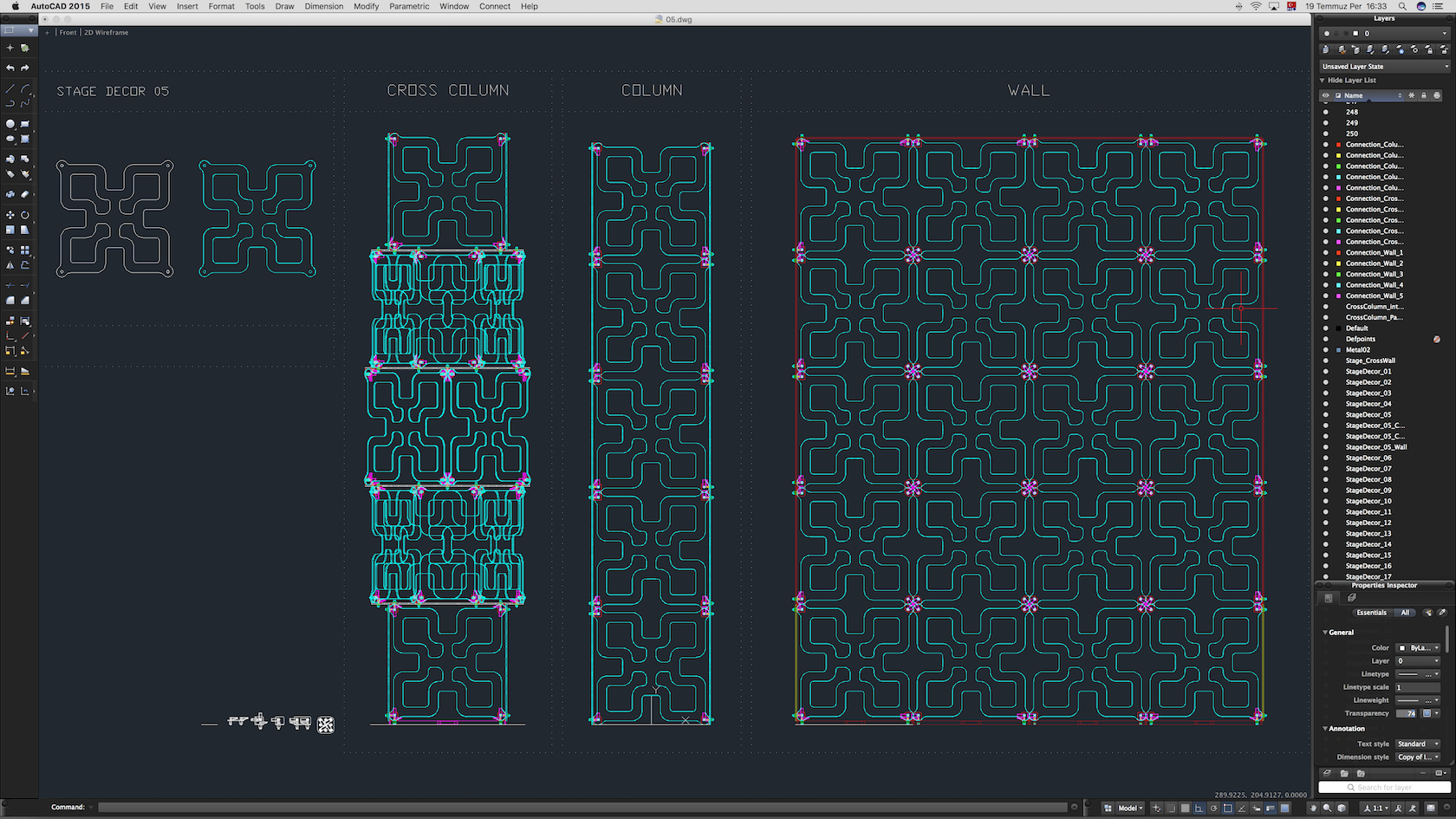 70-Cad-05-01-1680.jpg Download STL file Stage Decor Collection 01 (Modular 9 Pieces) • 3D printer model, akerStudio