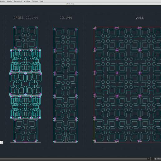 70-Cad-05-01-1680.jpg Télécharger fichier STL Collection de décors de scène 01 (Modulaire 9 pièces) • Design pour imprimante 3D, akerStudio