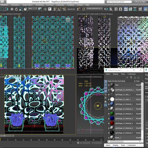 70-Max-03-01-1680.JPG Télécharger fichier STL Collection de décors de scène 01 (Modulaire 9 pièces) • Design pour imprimante 3D, akerStudio