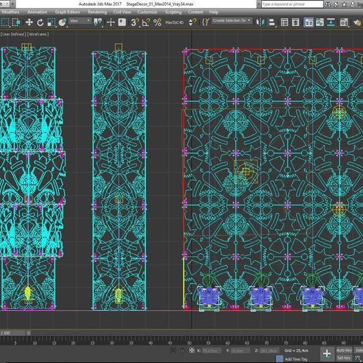 70-Max-01-02-1680.JPG Download STL file Stage Decor Collection 01 (Modular 9 Pieces) • 3D printer model, akerStudio