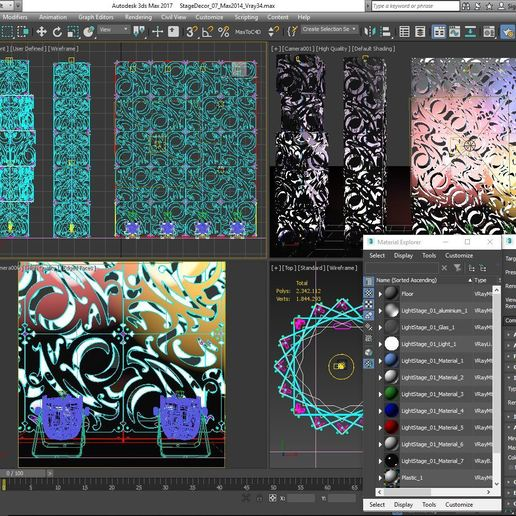 70-Max-07-01-1680.JPG Télécharger fichier STL Collection de décors de scène 01 (Modulaire 9 pièces) • Design pour imprimante 3D, akerStudio