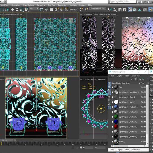 70-Max-07-01-1680.JPG Download STL file Stage Decor Collection 01 (Modular 9 Pieces) • 3D printer model, akerStudio